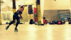Skaters of Badfish Roller Derby
