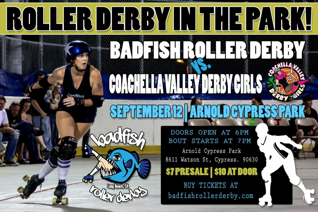 Badfish vs. Coachella Roller Derby Bout